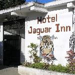 Outside of Jaguar Inn, Santa Elena