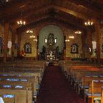 inside the church Old Mesilla