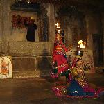 Traditional dancers in Bagore Ki Haveli