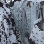 Ice falls