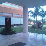 Fiesta Inn Reynosa - courtyard outside lobby and restaurant