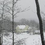 Henry Farm Inn - I was snowshoeing in their