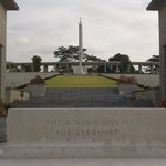 kranji war cemetery entrance