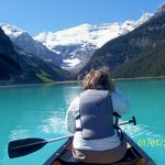 Spend the $ and rent the canoes at Lake Louise