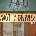 Knotty or Nice Sign