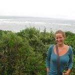 walk in Plett on a cloudy day