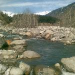  Beas river outside hotel