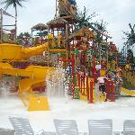 playground at waterpark