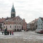  Main square close to the pension