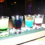 Amazing shots in Danny`s bar!