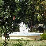  TTDC Madurai 2 - la fontana nel parco