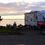 Winchester Bay RV Re, waterfront sitesort