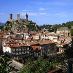 The Chateau and town of Foix