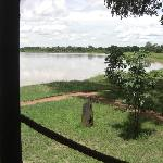 view from Nsefu accomodation