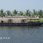 a wonderfull night on houseboat on the backwaters
