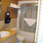 Room 204 bathroom