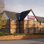 Outside view of premier inn