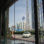 Burj Dubai from Main Entrance