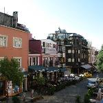  balcony view of Sultanhamet