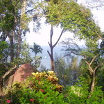 View from Megapode Resort in Port Blair