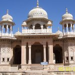 Memorials for the erstwhile rulers of Jaipur