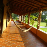 Clean rooms and patios with hammocks