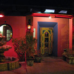 The colorful entrance to La Fuente