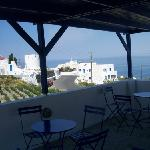  youth hostel oia terrasse