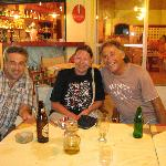Vasilis, Connie, Spiros