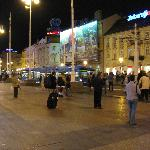 Jelacic Square - night
