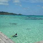 beautiful ocean in Providencia