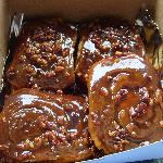 The famous sticky buns that beat Bobby Flay.