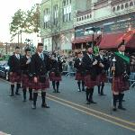 The 6th Annual World's Shortest St. Patrick's Day Parade in Downtown