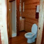  The bathroom in Cabin #2