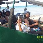 us on buggy tour