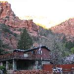 Foto van Slide Rock Lodge