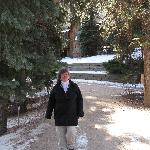A beautiful walk at the Ponderosa on a snowy day!