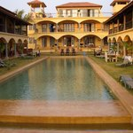  All suites face the pool at relaxed and charming Sur la Mer, Goa