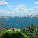 my favorite shot of Bosphorus from Topkapi Palace