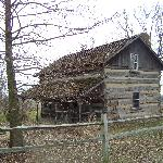 This was our wonderful cabin so rustic and so much history
