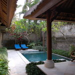  Private pool of villa