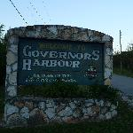 L'entrée de Governor's Harbour