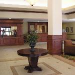 Open, inviting lobby