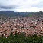 Cusco from the hill