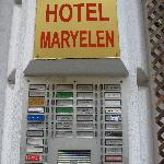 Hotel Sign - so you know what you're looking for!