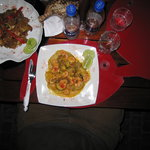Tostones de Santa Theresa and Paella Mulatto