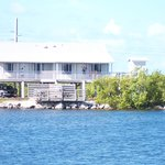  View of Cabins from across the lagoon