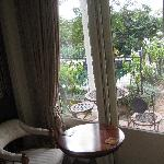 View from the side sitting room of the Toscana
