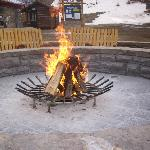 Fire pit for making Smores