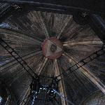 Eye of Horus at centre of cathedral roof in SDC